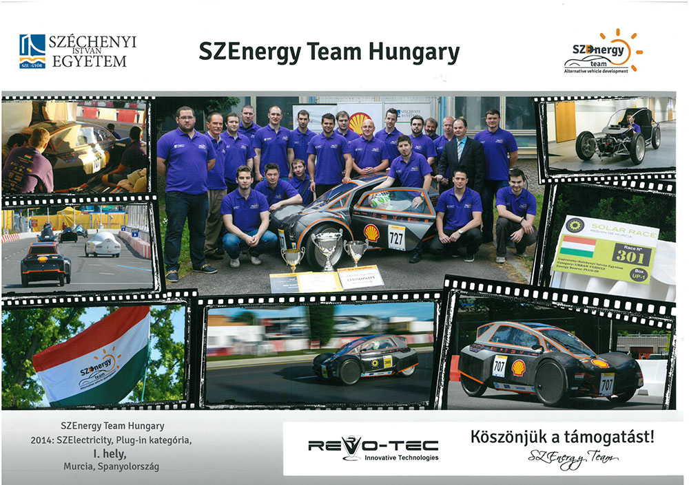 SZEnergy Team Hungary 2014
