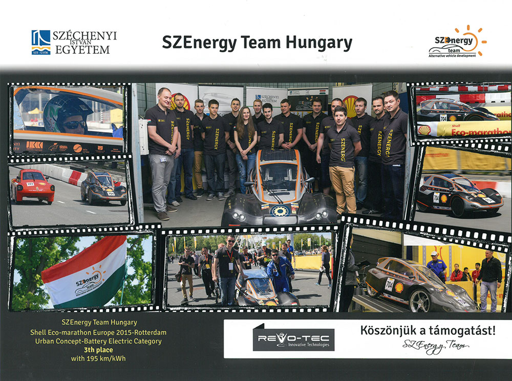 SZEnergy Team Hungary 2015