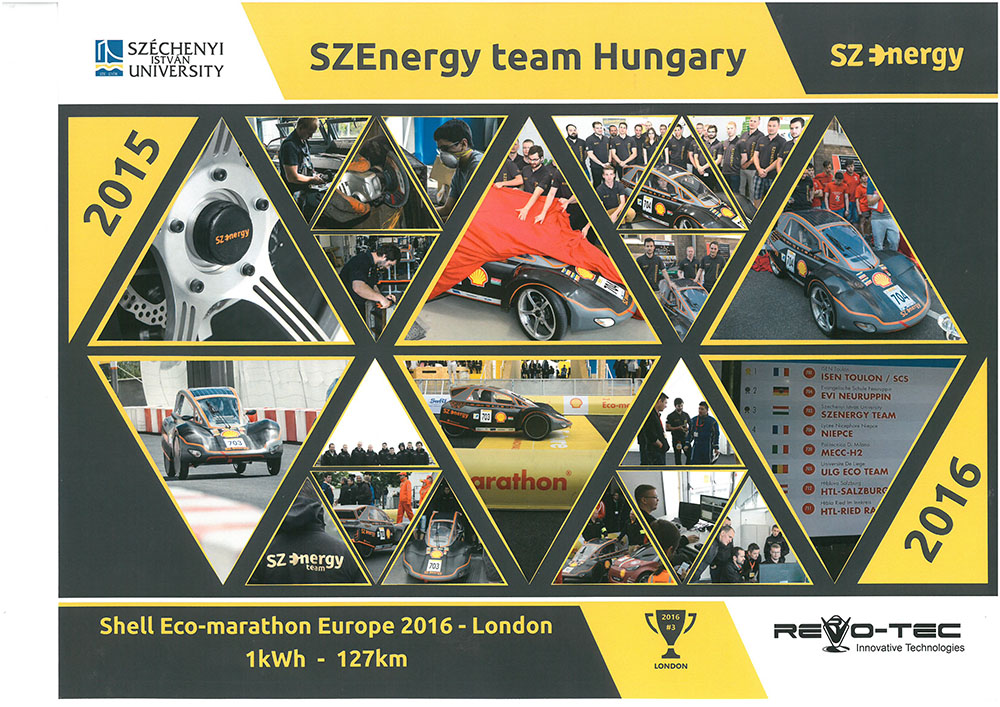 SZEnergy Team Hungary 2016